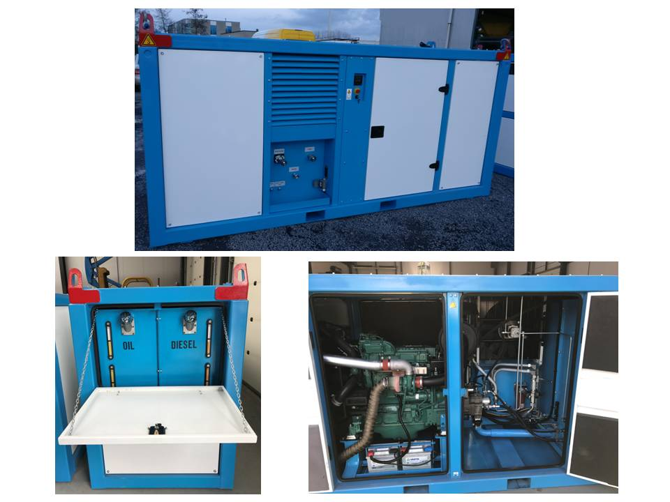 Hydraulic Power Pack Diesel driven