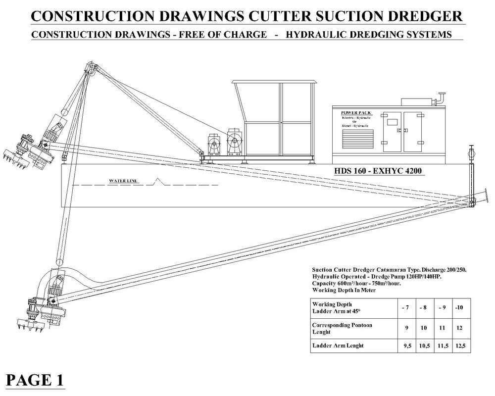 Pontoon Construction Drawing